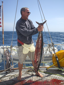 Wahoo on board